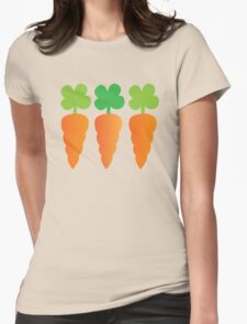 Three carrots orange vegetables T-Shirt