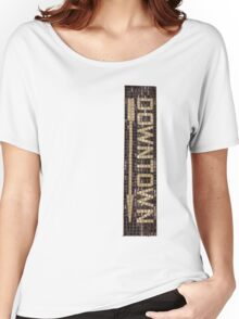 Way Downtown Women's Relaxed Fit T-Shirt