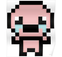 Isaac Pixelated  the Binding of isaac Poster