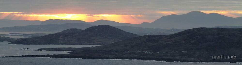 Sunrise over Donegal by merlinmx5