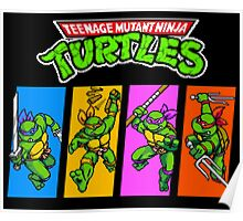 CHOOSE YOUR TURTLE Poster
