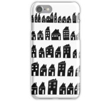 Black Houses iPhone Case/Skin