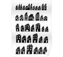 Black Houses Poster