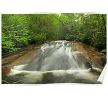 Slide Rock, Pisgah National Forest Poster