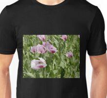 Poppies in the Breeze, Table Cape, Tasmania, Australia. Unisex T-Shirt