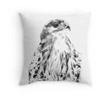 Red Tailed Hawk Throw Pillow