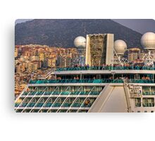 Cruise Climbers Canvas Print