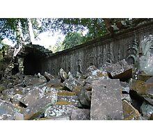 Fallen Building, Siem Reap, Cambodia Photographic Print
