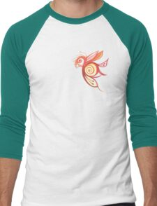 Birderfly Tee Men's Baseball ¾ T-Shirt