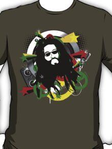 Rasta Music Vector T-Shirt T-Shirt