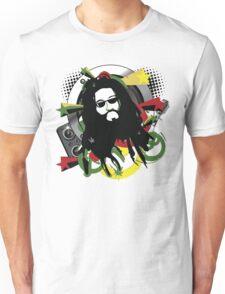 Rasta Music Vector T-Shirt Unisex T-Shirt