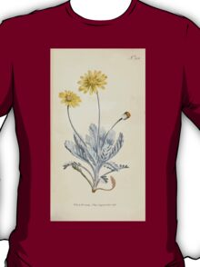 The Botanical magazine, or, Flower garden displayed by William Curtis V9 V10 1795 1796 0041 Othonna Pectinata Wormwood LEaved Othonna T-Shirt