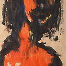 Femme orange by ArtLacoque