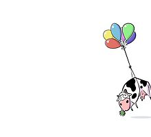 Balloon Cow by rwshilling