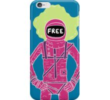 Fire Astronaut iPhone Case/Skin