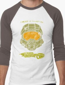 I need a weapon. Men's Baseball ¾ T-Shirt
