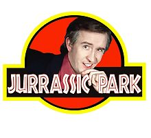 "Alan Partridge ""JURASSIC PARK"" by leddinton"