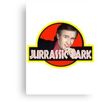 "Alan Partridge ""JURASSIC PARK"" Canvas Print"