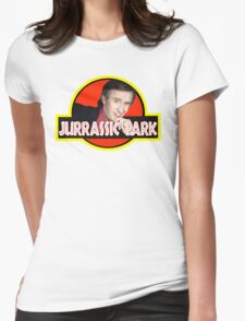 "Alan Partridge ""JURASSIC PARK"" Womens Fitted T-Shirt"