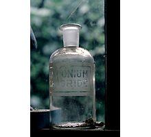 Empty Bottle Photographic Print