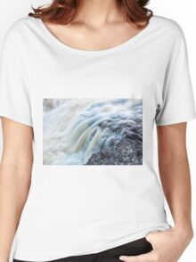 Waterfall Close Up Women's Relaxed Fit T-Shirt
