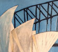 The Sydney Opera House  by gillsart