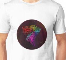Geometry and Colors XIV - rainbow Unisex T-Shirt