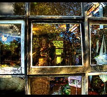 windows in mirrors by John Adulcikas