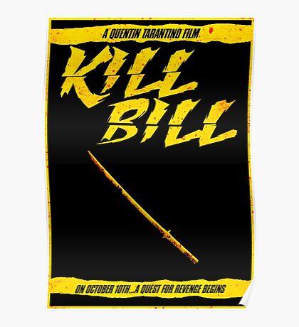 KILL BILL - Minimal Gory Poster Design Poster