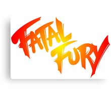 FATAL FURY Canvas Print