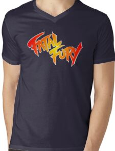 FATAL FURY Mens V-Neck T-Shirt