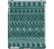 Tribal Ocean Blue Aztec Pattern iPad Case/Skin