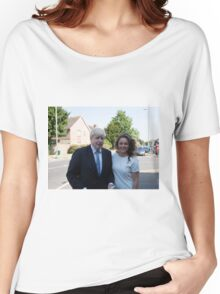Boris Johnson visits the Maypole project Women's Relaxed Fit T-Shirt
