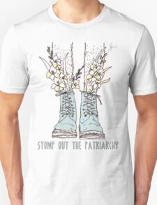 STOMP OUT THE PATRIARCHY Unisex T-Shirt