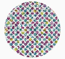 Abstract Floral Spots Kids Clothes