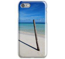 Cuban beach iPhone Case/Skin