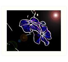 ~ Space Flowers ~ Art Print