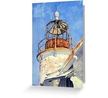 Old Crookhaven Heads Lighthouse, NSW, Australia Greeting Card