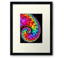 Elephant Pride Framed Print