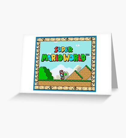 IT'S-A ME! MARIO! Greeting Card