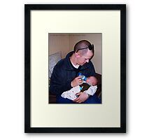 A Soldier's Gift Framed Print