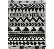 Black and White Aztec Pattern ~hella rad~ iPad Case/Skin