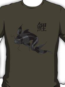 Black Koi with Konji T-Shirt