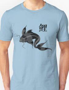 Black Koi with Konji Unisex T-Shirt