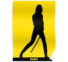 KILL BILL - Minimal Silhouette Poster Poster