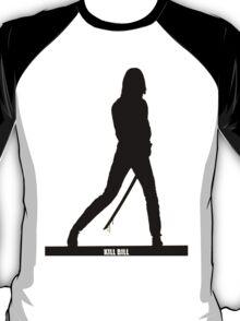 KILL BILL - Minimal Silhouette Poster T-Shirt