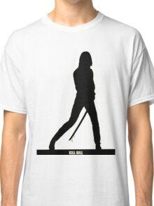 KILL BILL - Minimal Silhouette Poster Classic T-Shirt