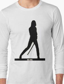 KILL BILL - Minimal Silhouette Poster Long Sleeve T-Shirt