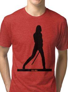 KILL BILL - Minimal Silhouette Poster Tri-blend T-Shirt