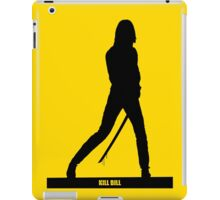 KILL BILL - Minimal Silhouette Poster iPad Case/Skin